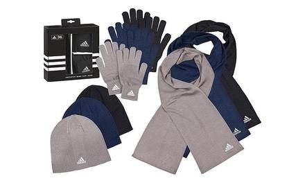 3-teiliges Adidas Winter-Set in der Farbe nach Wahl