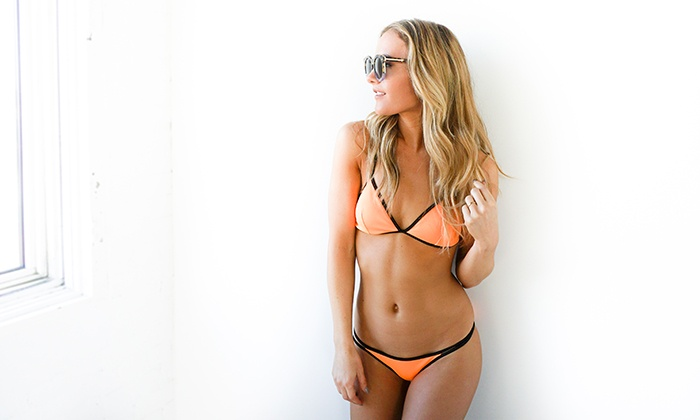 Organic Tan - The Vanity Vault Calgary: One, Three, or Five Organic Airbrush Tanning Sessions at Organic Tan (Up to 64% Off)