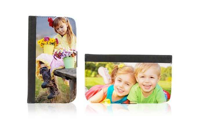 Picture It On Canvas: Custom Phone Wallet Case from Picture It On Canvas. Multiple Models from $16.99–$29.99.