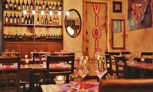 Viola: Corso Abbinamento Vino & Cibo con cena di 4 portate e calici abbinati (sconto fino a 75%)