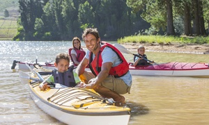 Kayaks-Jaunes - afvaart van de Lesse: € 29,99 voor een afvaart van de Lesse met de kajak voor 2 personen dankzij Kayaks Libert