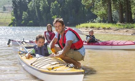 Descente de la Lesse pour 2 personnes en kayak biplace confort à 29,99 € avec Les Kayaks Libert