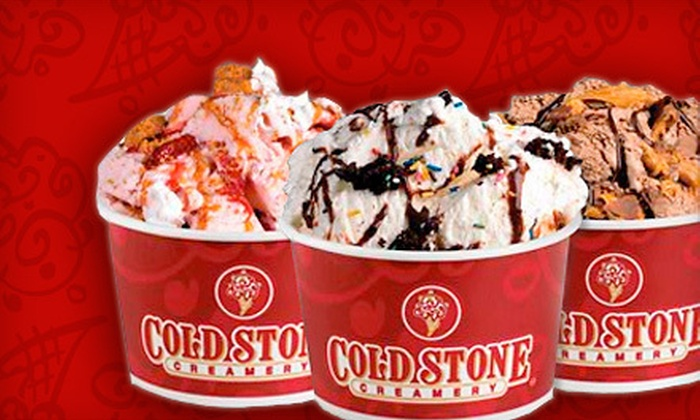 Cold Stone Creamery - Lubbock: $5 for $10 Worth of Ice Cream, Shakes, and Cakes at Cold Stone Creamery