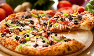 Giant Pizza King: $12 for $20 Worth of Pizzeria Cuisine at Giant Pizza King