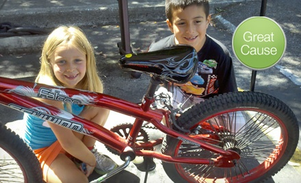 $10 Donation to Help Buy Bikes and Helmets for Kids *