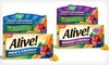 Nature's Way Alive! Multivitamins: $17.99 for 2 50-Tablet Bottles of Nature's Way Alive! Energy Multivitamins for Men or Women ($21.98 List Price)