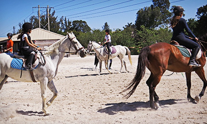 Starfall Ranch - Southwest Ranches: $45 for One Day of Kids' Horseback-Riding Camp at Starfall Ranch ($90 Value)