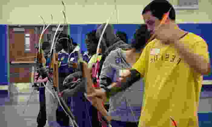 Hidden Gems Solutions - Multiple Locations: 90-Minute Archery Lesson with Equipment Rental for One or Two from Hidden Gems Solutions (Half Off)