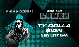 New City Gas: Two General Admissions or VIP Tickets to Ty Dolla C$ign or 3LAU + Throttle at New City Gas (Up to 53% Off)