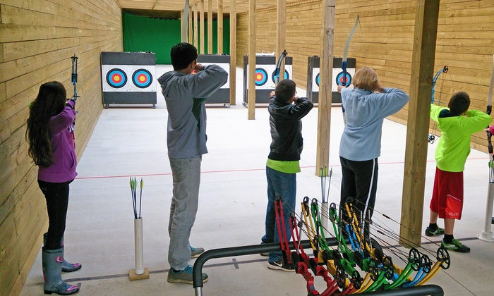Riley Archery Range - Riley Archery Range (in Heritage Park): 1 Hour of Archery with Equipment Rental for 1 or 2 at Riley Archery Range (Up to 36% Off)