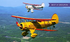 Acadia Air Tours: $99 for a Biplane Ride Over Acadia National Park from Acadia Air Tours ($199 Value)