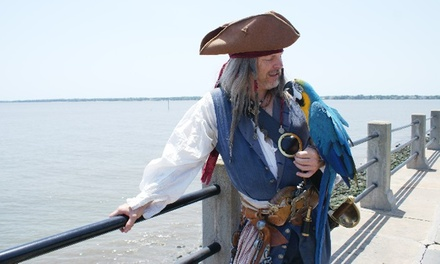 Two-Hour Pirate-History Walking Tour for One or Two from Charleston Pirate Tours (Up to 46% Off)