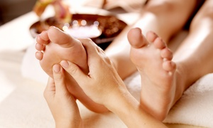 Foot-Reflexology Session with Optional Hand Massage from Happy Feet 4U (Up to 53% Off)