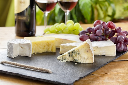 Cheese Making Class with Wine & Cheese Tasting for 1, 2, or 4 at Naked Cow Dairy Farm & Creamery (Up to 44% Off)
