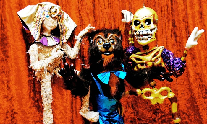 """Spooky Strings & Costume Party - Geppetto's Theater: Le Theatre de Marionette Presents """"Spooky Strings & Costume Party"""" on October 30 or 31 at 7:30 p.m."""
