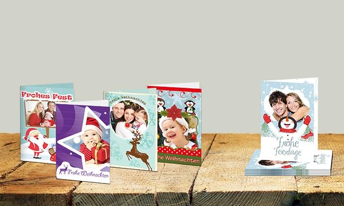 Weihnachtskarten Personalisiert.Personalisierte Weihnachtskarten Groupon Goods