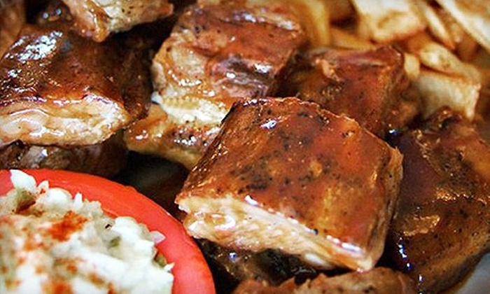 Crystal Lake Rib House - Crystal Lake Rib House: Barbecue for Two or Four at Crystal Lake Rib House (Half Off)