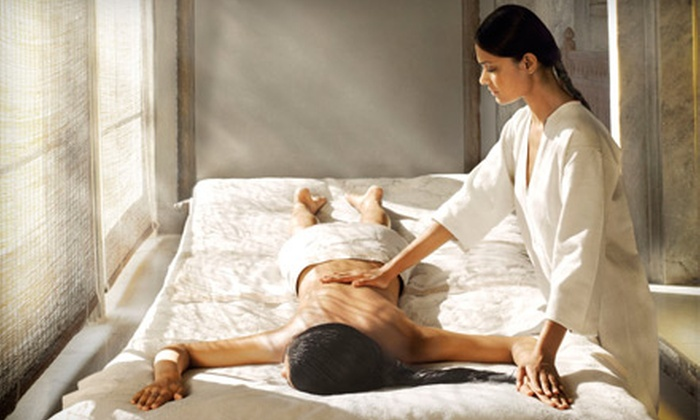William Edge Aveda and we.Spa - Multiple Locations: $99 for a Spa Day with Massage and Facial at William Edge Aveda SalonSpa ($205 Value)