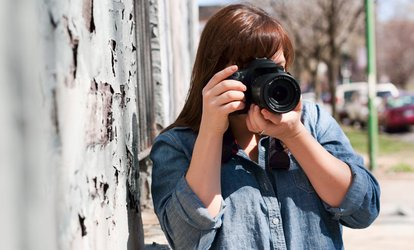 Three-Hour <strong>Photography</strong> Workshop for One or Two from The Workshoppe (Up to 53% Off)