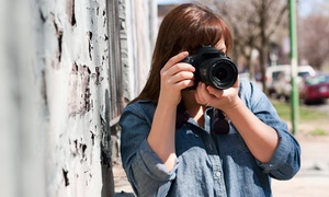 The Workshoppe: Three-Hour Photography Workshop for One or Two from The Workshoppe (Up to 53% Off)