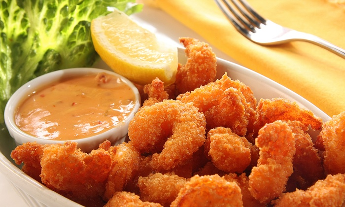 Ocean Basket - Central Visalia: $14 for Two Groupons, Each Good for $12 Worth of Seafood at Ocean Basket ($24 Total Value)