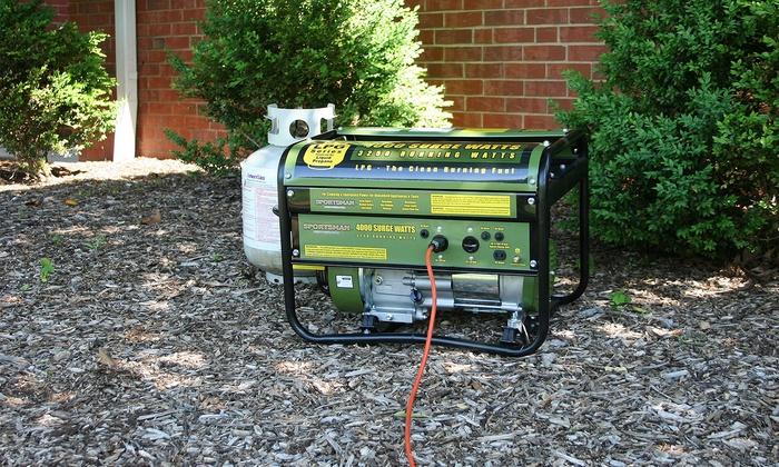 Sportsman Series 4 000 Watt Propane Portable Generator