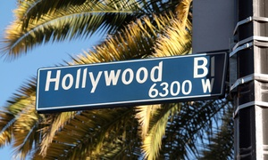Hooray for Hollywood Tours: Hollywood Walking Tour for One, Two, or Four from Hooray for Hollywood Tours (Up to 54% Off)