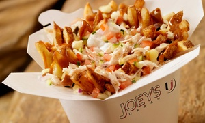 Joey's Urban - Grand Prairie: Casual Fresh Eats for Two or Four at Joey's Urban (56% Off).
