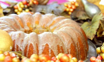 One or Two 10-Inch Bundt Cakes, or One Dozen Mini Bundt Cakes at Spirit Cakes (Up to 42% Off)