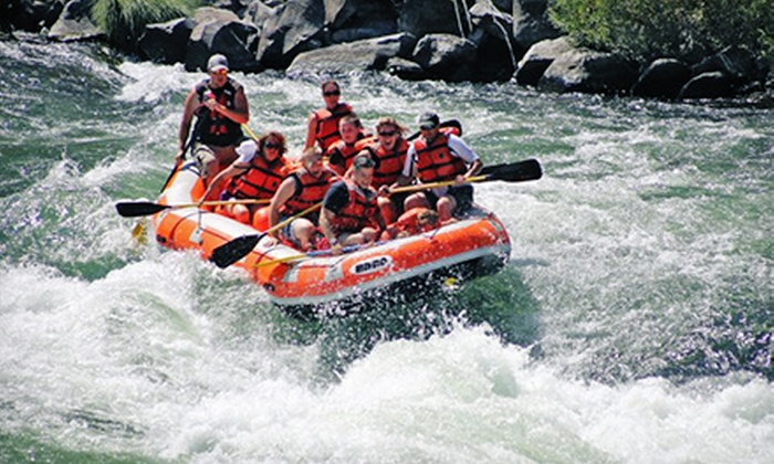 High Desert River Outfitters - Maupin: Half-Day Rafting Trip on the Deschutes River for Two or Four from High Desert River Outfitters (Up to Half Off)