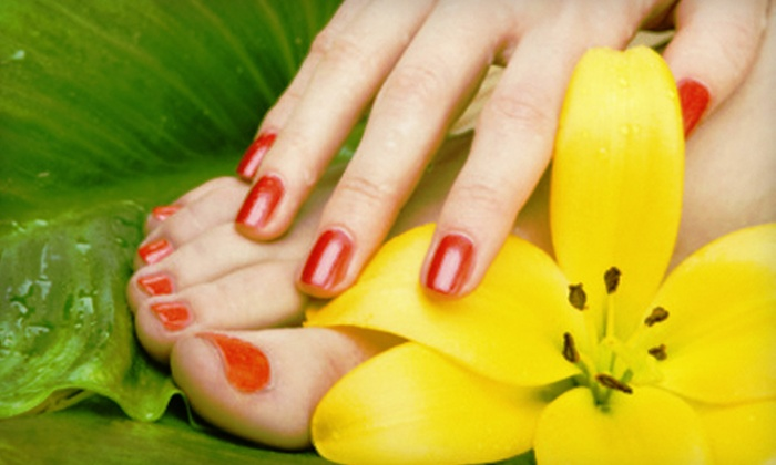Evanesce Medispa - Southcrest: Essential Mani-Pedi with Optional Shellac Polish at Evanesce Medispa (Up to 59% Off)