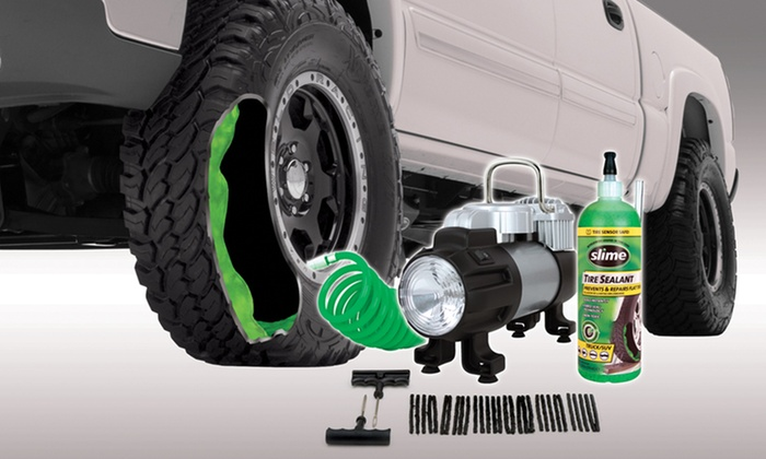 Slime Power Spare-Tire Repair Kit: Slime Power Spare-Tire Repair Kit. Free Returns.