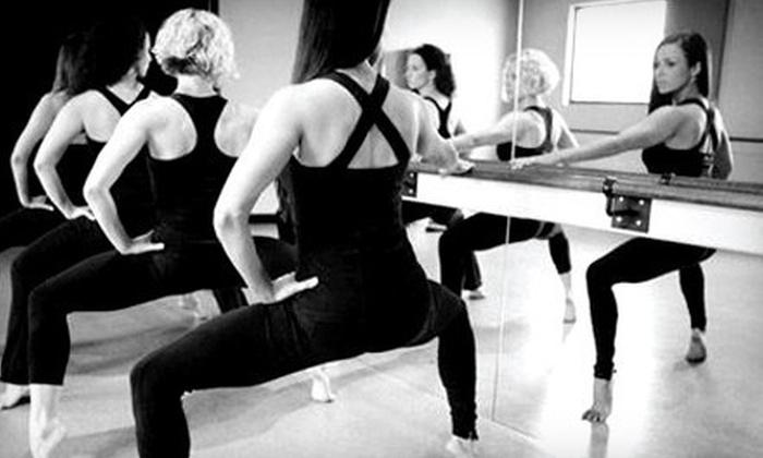 Purely e barre + pilates - Highlands/Perkins: 5 or 10 BarreAmped Classes at Purely E Barre + Pilates (Up to 56% Off)