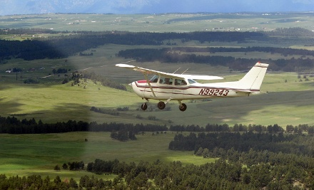 $199 for Six-Week Private Pilot Ground School and One-Hour Discovery Flight at Springs Aviation ($570 Value)