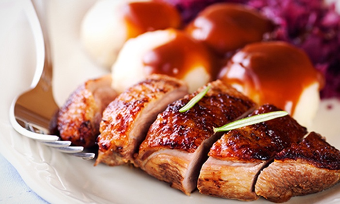 Ye Olde Mustard Pot - Midhopestones: Two-Course Gastropub Meal For Two for £19 at Ye Olde Mustard Pot (Up to 55% Off)