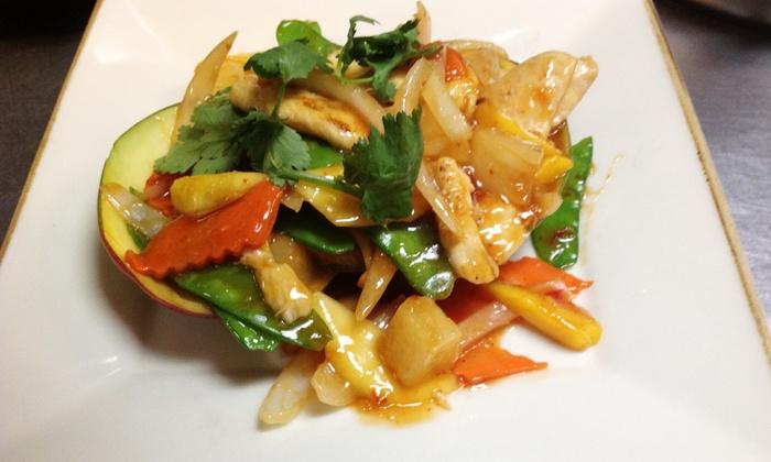 Asian fusion cuisine amcook fusion cuisine groupon for Amcook fusion cuisine