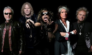 Aerosmith: Aerosmith with Premier Parking Package option at Amphitheater Northwest on July 28 at 8 p.m. (Up to 33% Off)