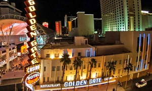 Historic Casino Hotel in Las Vegas  at Golden Gate Hotel & Casino, plus 6.0% Cash Back from Ebates.