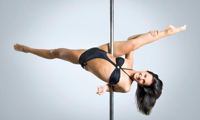 Head Over Heels Exotics - Gansevoort: Five Pole Dancing Classes at Head Over Heels Exotics (47% Off)