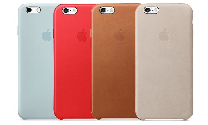 best website 01aa0 fcfed Leather or Silicone Cases for iPhone 5/5s/SE, 6/6s, or 6 Plus/6s ...