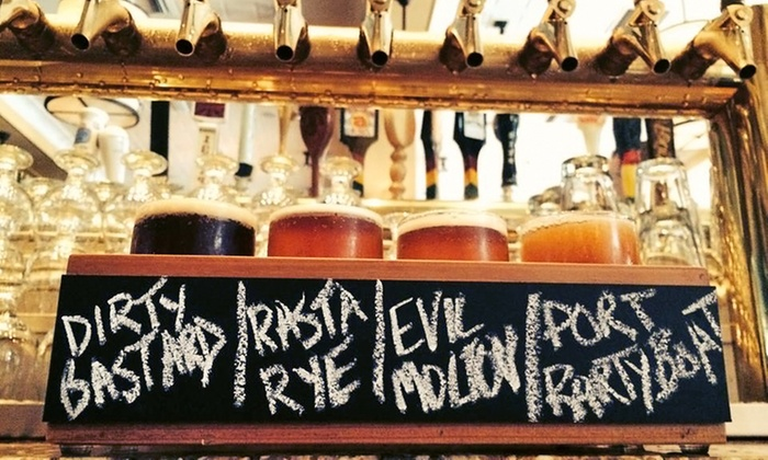 Savoy Tavern - Merrick: $18 for a Craft-Beer Tasting for Two at Savoy Tavern ($37 Value)
