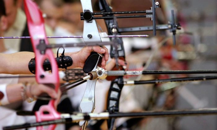 Archery Academy at BOSS Archery - Concord: Archery Lesson with Gear and Range Time for Two or Two Private Lessons at BOSS Archery (50% Off)