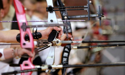 Archery Lesson with Gear and Range Time for Two or Two Private Lessons at BOSS Archery (50% Off)