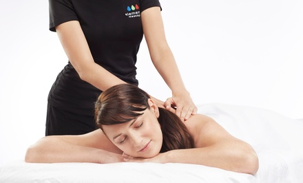 One 55-Minute or Three 30-Minute Massages at Elements Therapeutic Massage (Up to 53% Off)