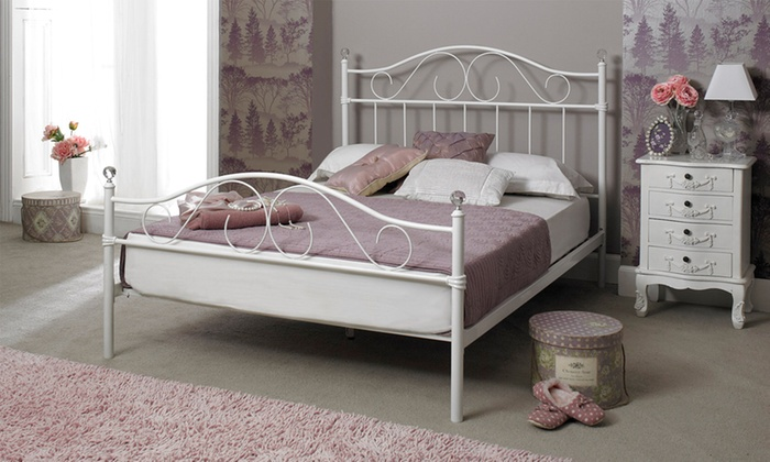 Double Bed Frame And Mattress Groupon Goods