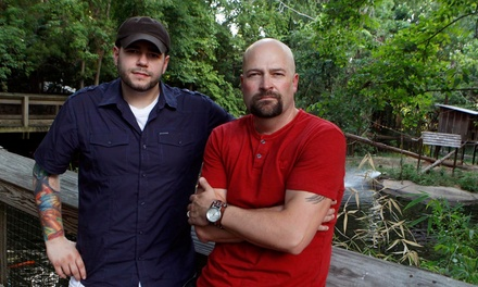 Ghost Hunters Live! with Jason Hawes & Steve Gonsalves on Friday, January 23, at 8 p.m. (Up to 49% Off)