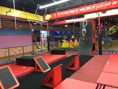 Ninja Obstacle Course Admission for One or Two at Kid's Paradise (Up to 56% Off)