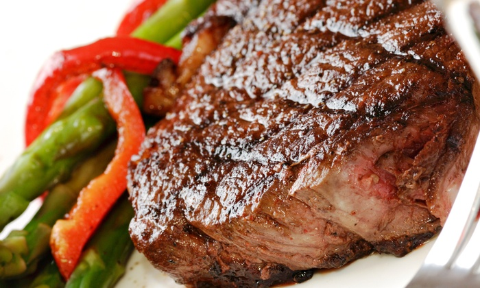 Cactus Steakhouse  - 3: Southwestern Steak and Seafood for Two or Four at Cactus Steakhouse (29% Off)