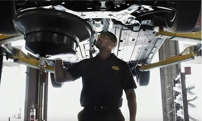 Midas - Las Vegas: Conventional Oil Changes, Full Synthetic Oil Change, or Fuel-Injector Cleaning at Midas (Up to 78% Off)