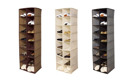 16-Compartment Hanging Organizer. Multiple Colors Available. Free Returns.